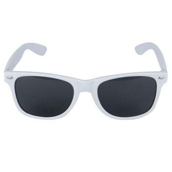 White Framed Austin Glasses With Dark Lenses