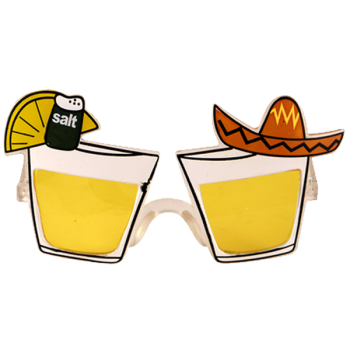 Mexican Glasses With Yellow Lenses