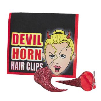 Hair Clip Devil Horns