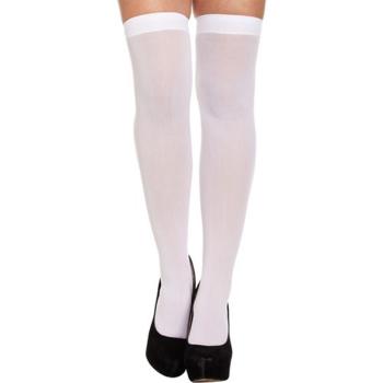 Hold-Up Stockings White