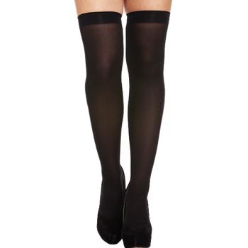 Hold-Up Stockings Black