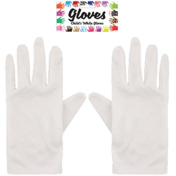 Child's White Gloves