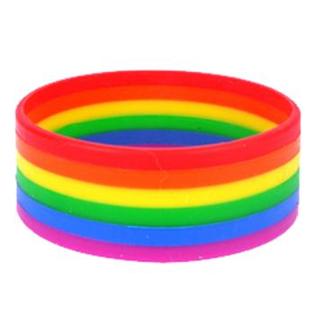 Silicone Pride Bracelet