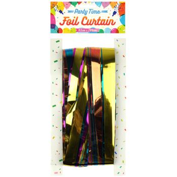 Multicoloured Foil Door Curtain