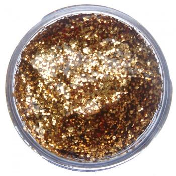 Red Gold Glitter Gel (12ml)