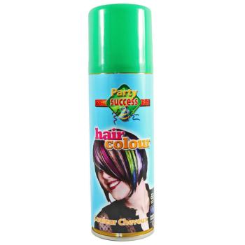 Green Coloured Hairspray
