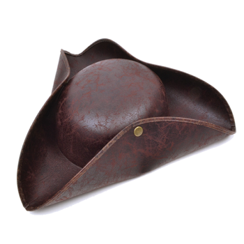 Brown Pirate Hat