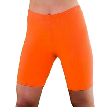 Cycling Shorts Neon Orange