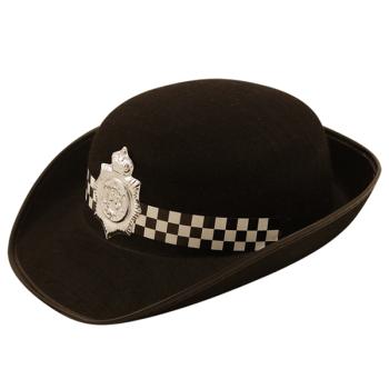 WPC Policewoman Black Felt Hat