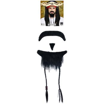 Pirate Beard & Moustache Set