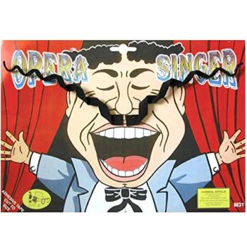 Opera Singer Moustache