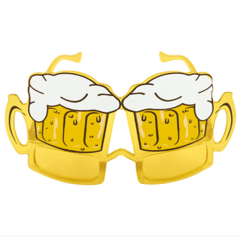 Beer Glasses With Yellow Lenses
