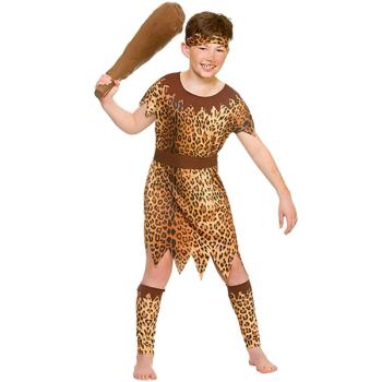Stone Age Cave Boy
