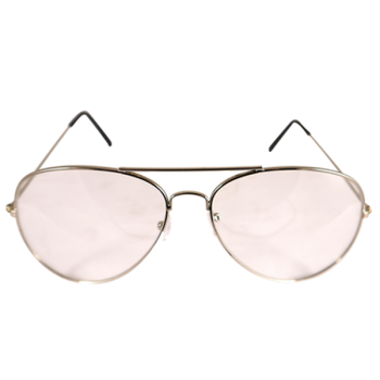 Pop Icon Glasses With Clear Lens