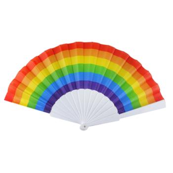Pride Plastic Folding Fan
