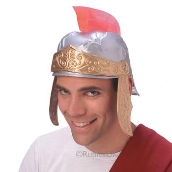 Plastic Roman Helmet