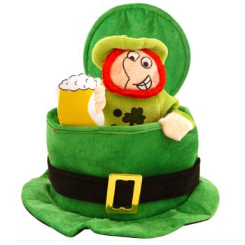 Irish Top Hat With Leprechaun