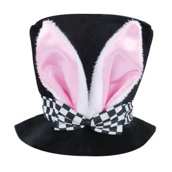 Children's Bunny Tea Party Top Hat With Ears