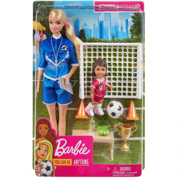 Barbie 'You Can Be Anything'- Soccer Coach