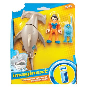 Imaginext Hammerhead Shark & Snorkeler