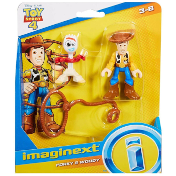Imaginext Toy Story Forky & Woody