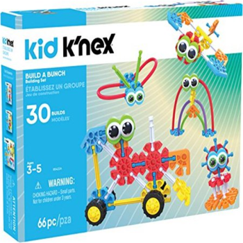 Kid K'nex Build A Bunch Building Set