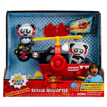 Ryan's World Combo Panda Rescue Helicopter