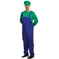 Super Workman Green Adult Costume