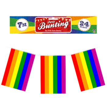 Pride LGBTQ+ Rainbow Flag Bunting