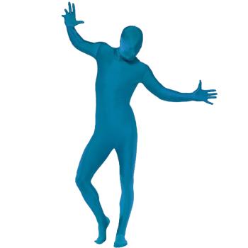Second Skin Suit Blue