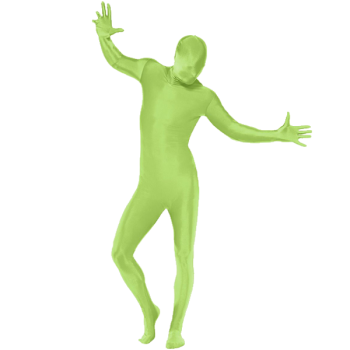 Second Skin Suit Green