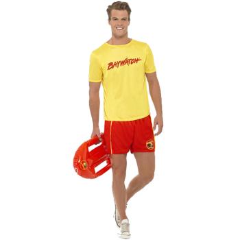 Baywatch Men's Beach Costume Adult