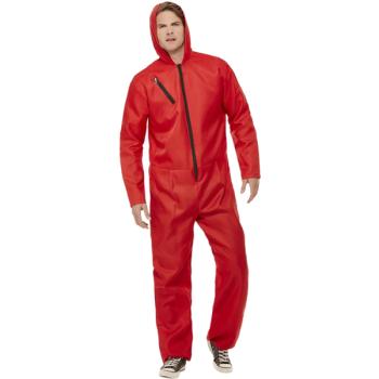 Bank Robber Jumpsuit Adult Costume