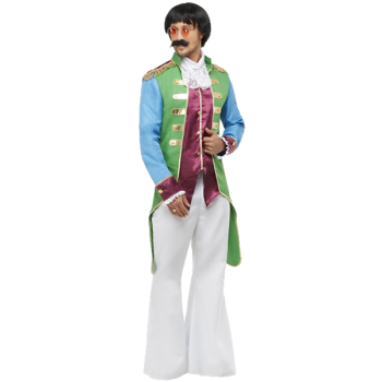 Party Jacket Green & Purple With Gold Trim