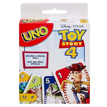 UNO Card Game Toy Story 4