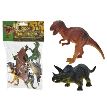 Jurassic Era 6 Piece Dinosaur Set