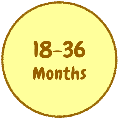 18-36 MONTHS