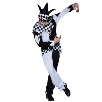 Masked Jester Adult Costume