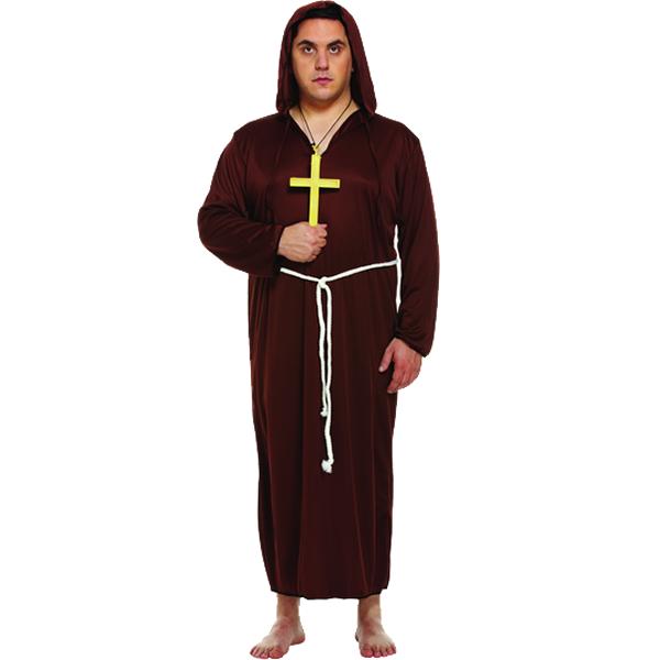 Monk XL Adult Costume