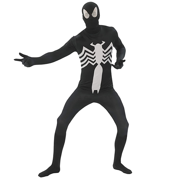 Spiderman Black Morphsuit Adult Costume
