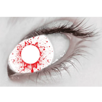 Bloodshot Drops Contact Lenses (Daily)