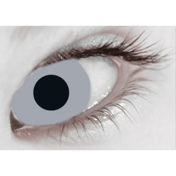 Zombie Grey Contact Lenses (Daily)