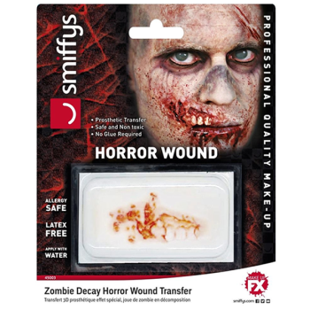 Zombie Decay Horror Wound Prosthetic