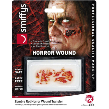 Zombie Rot Horror Wound Prosthetic