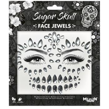 Sugar Skull Face Jewels