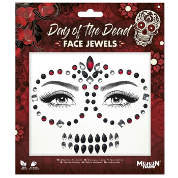 Day Of The Dead Face Jewels