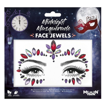 Midnight Masquerade Face Jewels
