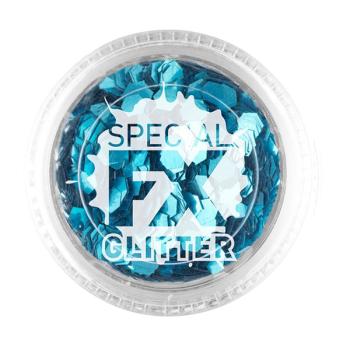 Blue Confetti Glitter
