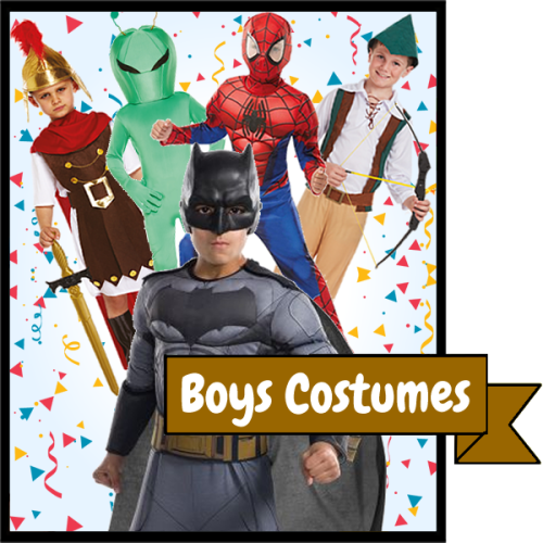 All Boys Costumes