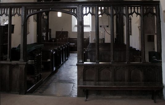 Stondon church interior